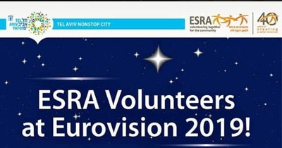 ESRA Volunteers at Eurovision2019!