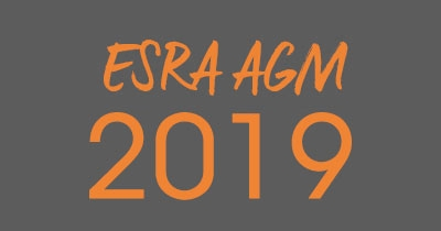 AGM 2019 - ESRA's Annual General Meeting